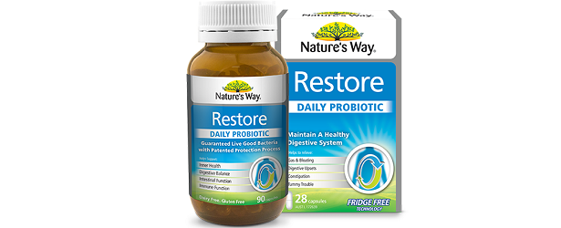 Nature's Way Restore Daily Probiotic Review